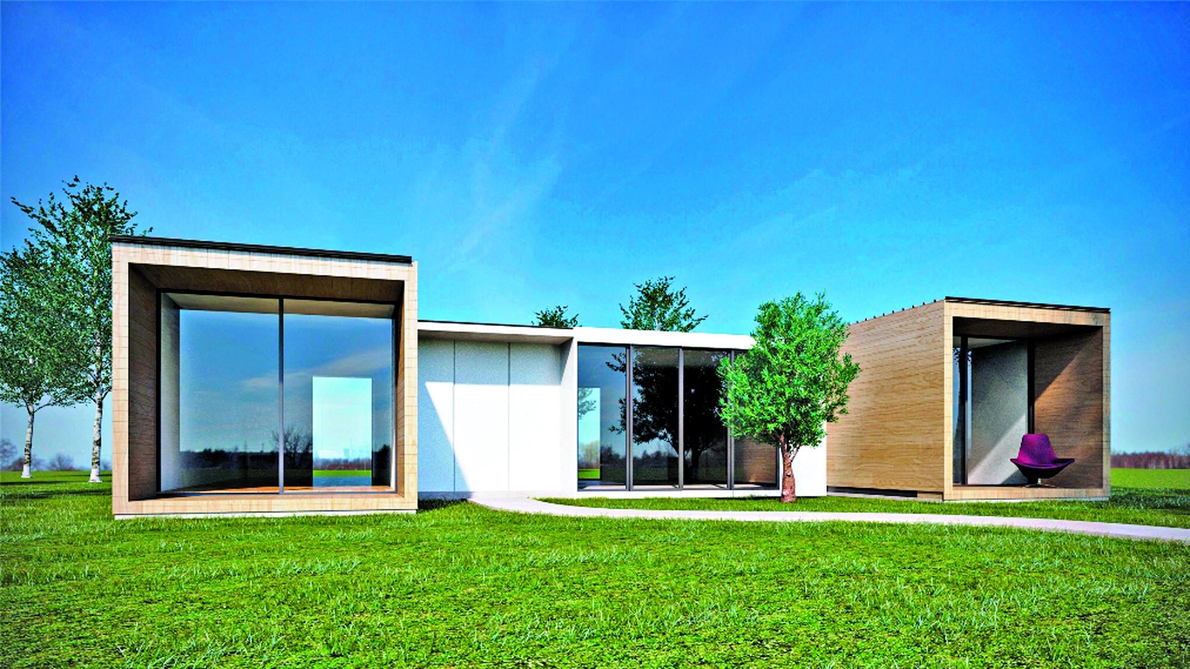 Casas Modernas Modulares Decoracin Del Hogar Prosalocom