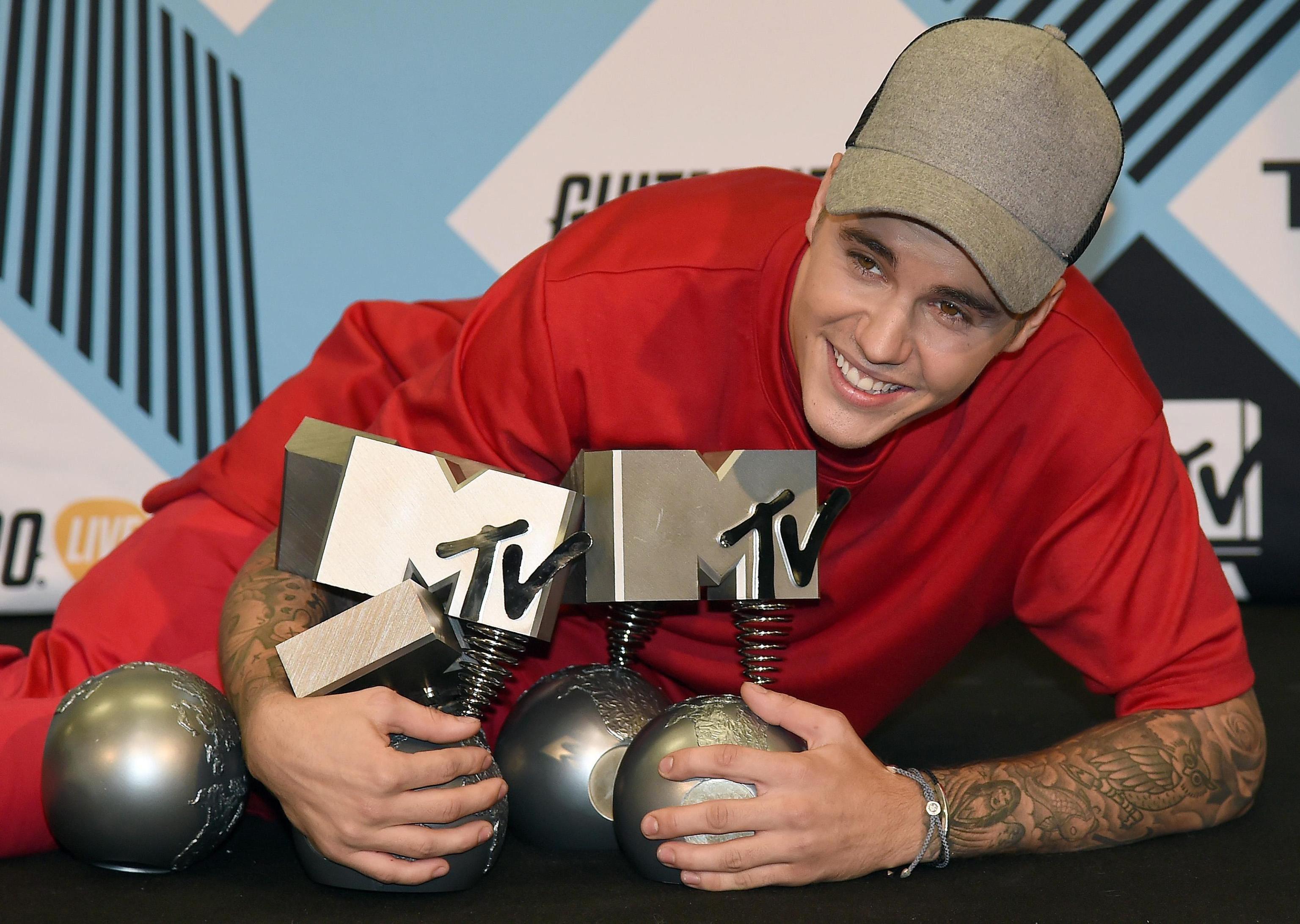 Os vencedores da edição deste ano dos MTV Europe foram anunciados num espetáculo em Milão, Itália