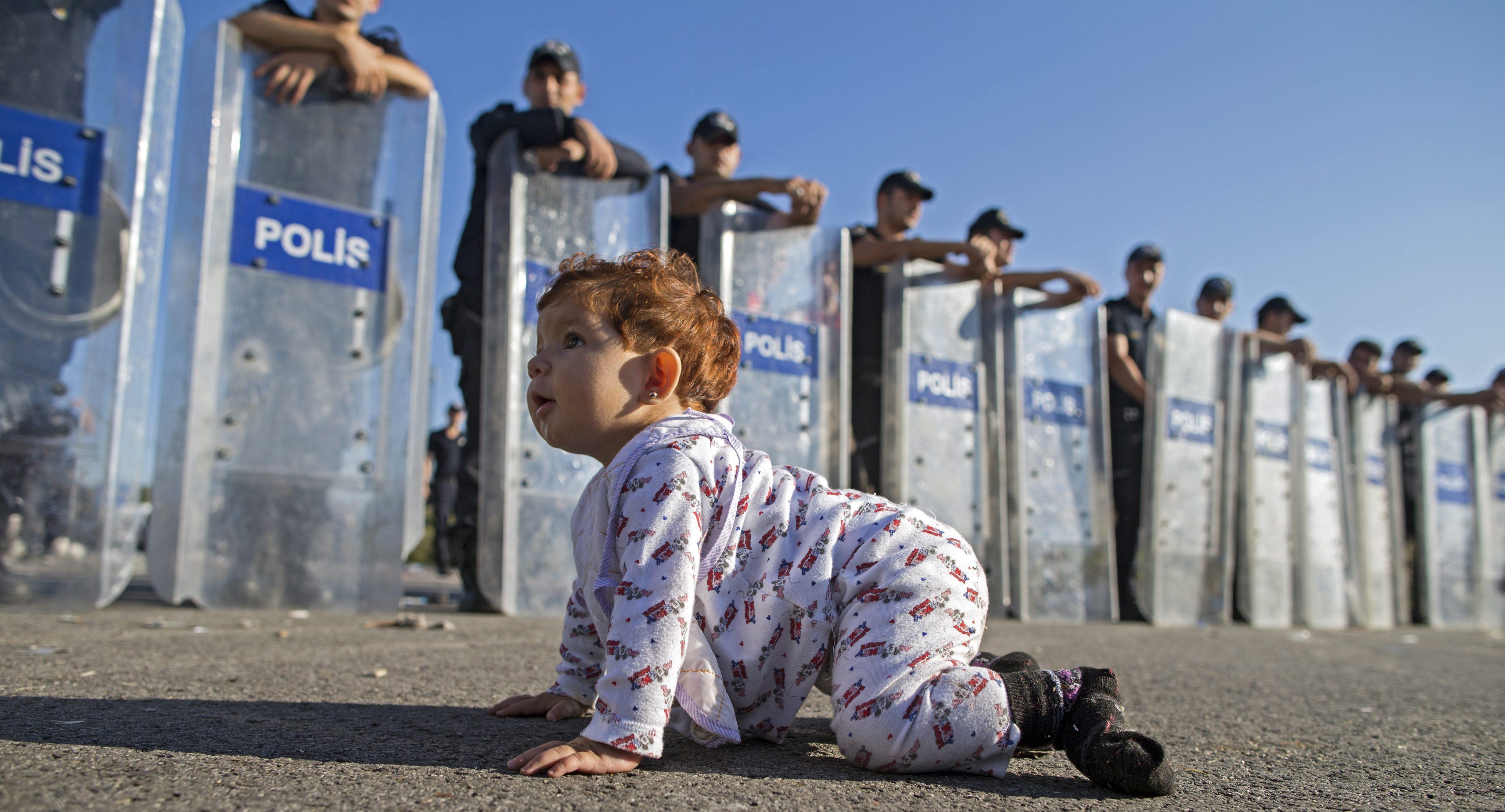 Mais de 10 mil crianças refugiadas desapareceram